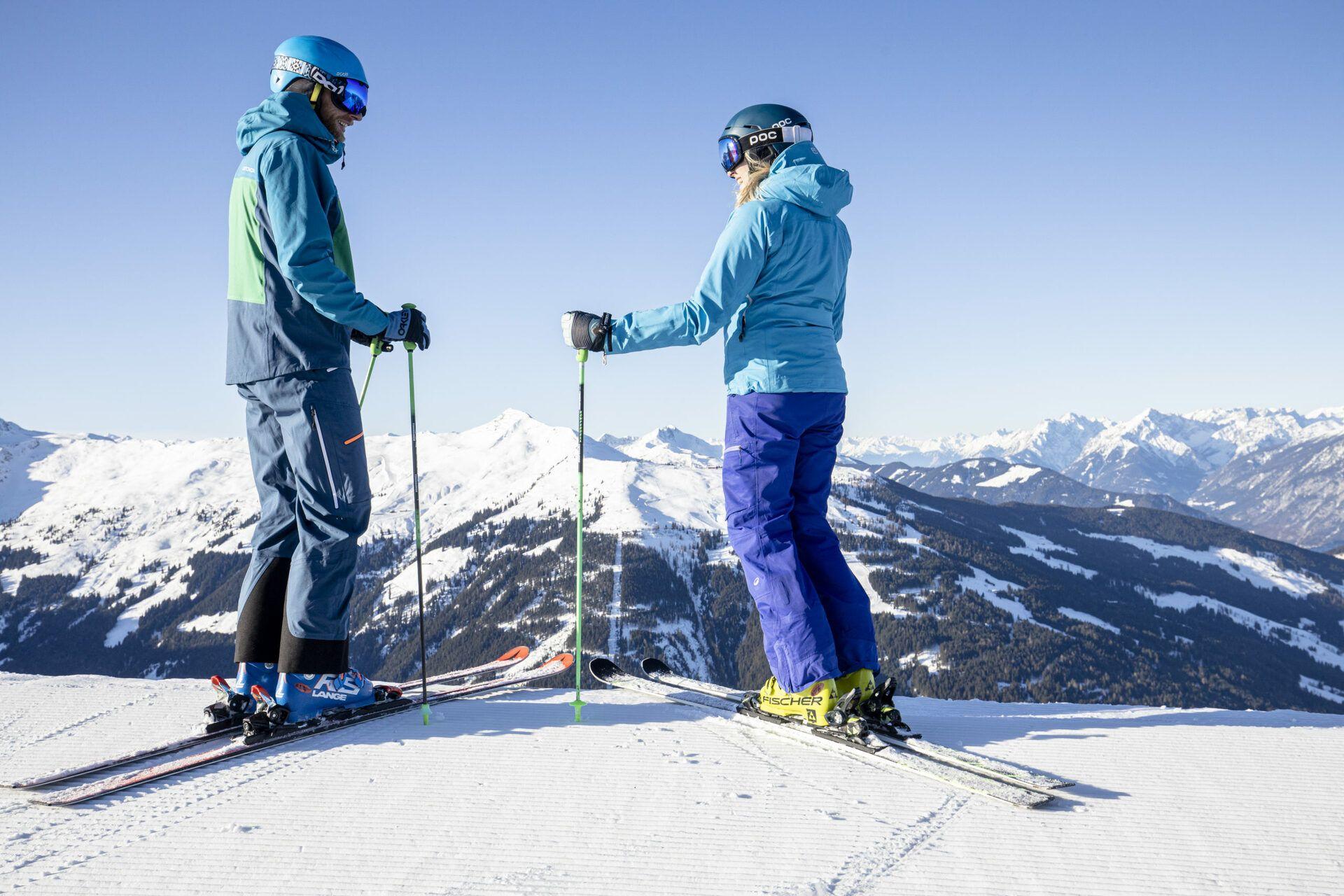 Skifahren im Skijuwel