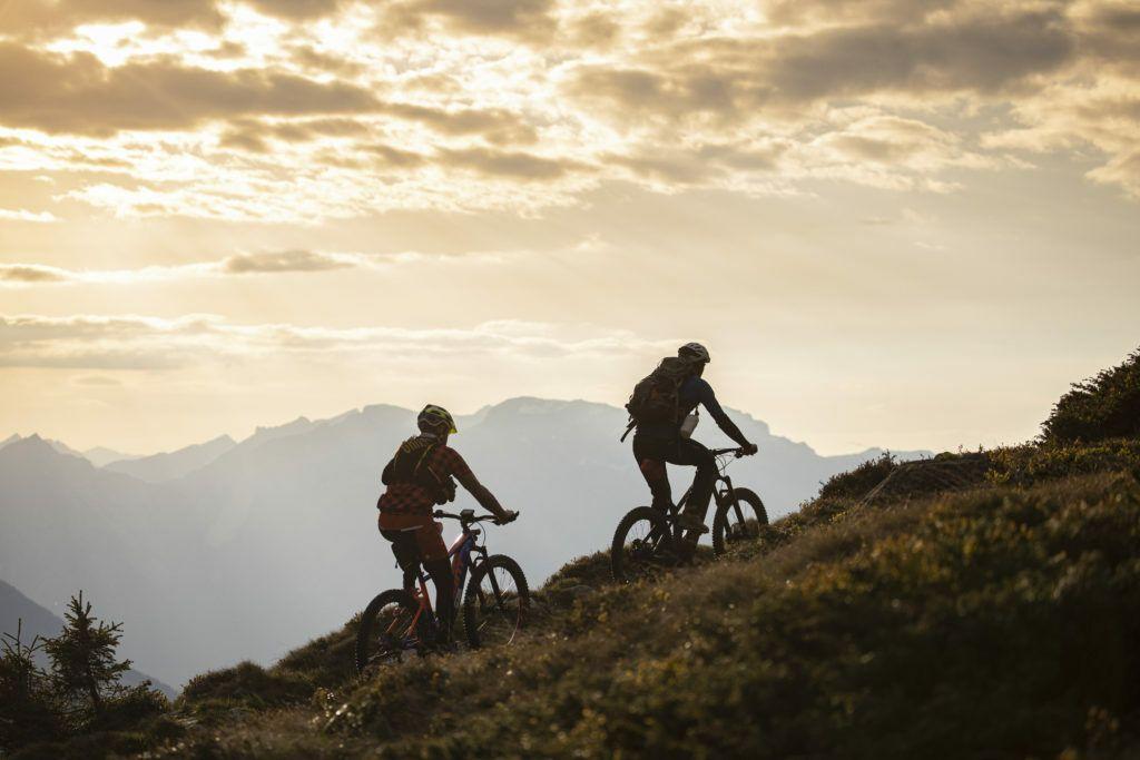 Mountainbike-Fahrt