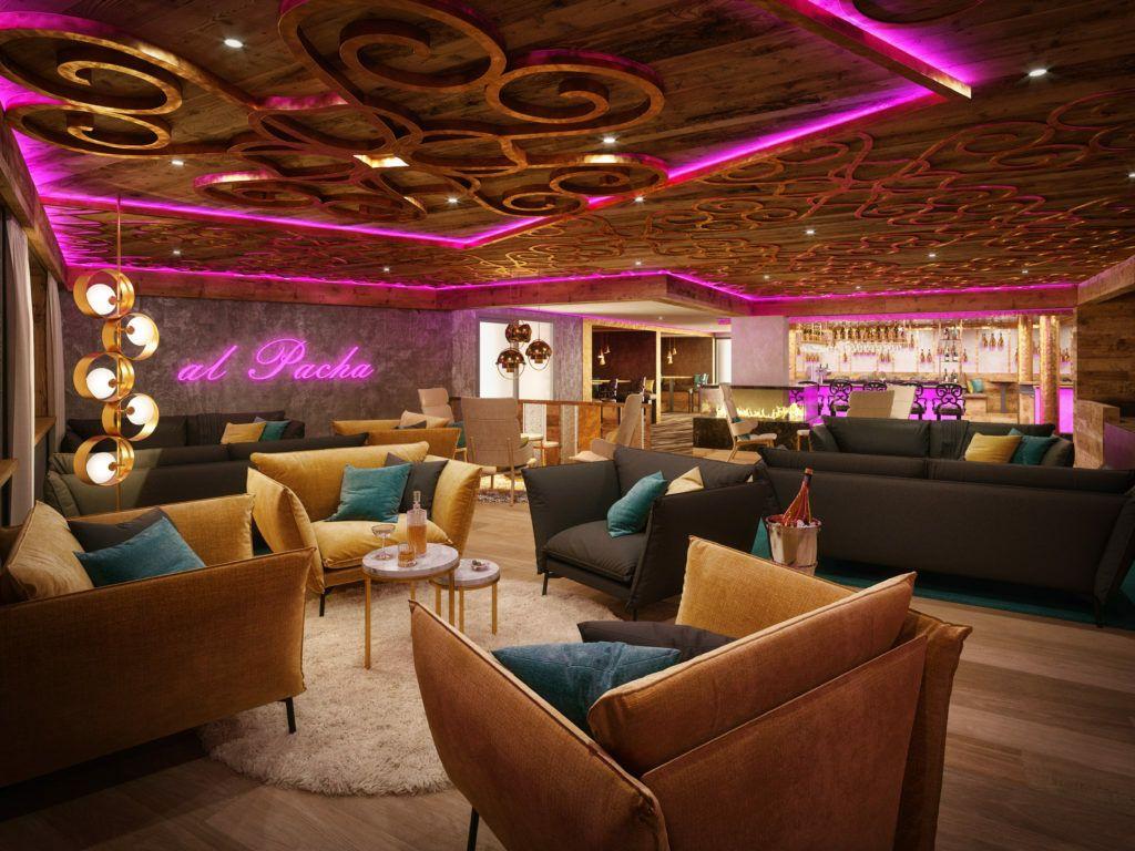al PACHA Bar Sitzbereich